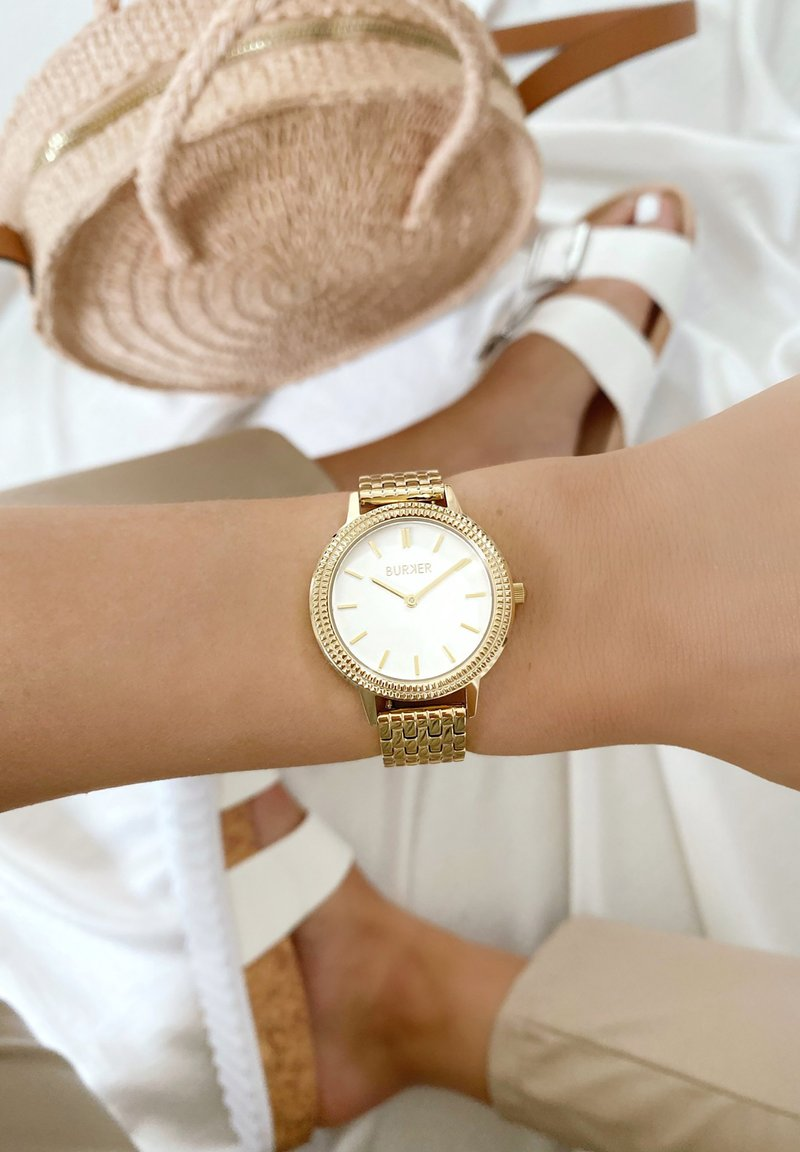 Burker - Watch - gold/white