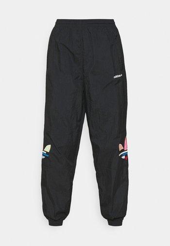 TRACK PANTS - Träningsbyxor - black