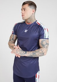 SIKSILK - Print T-shirt - eclipse - 0