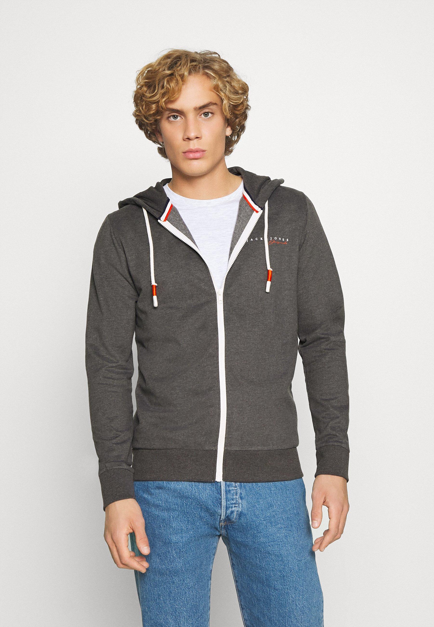 Men JORCLAYTON ZIP HOOD - Zip-up sweatshirt