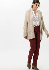 BRAX - STYLE MARY - Trousers - rosewood - 1