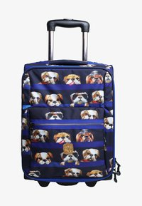 pick & PACK - DOGS - Wheeled suitcase - blue - 0