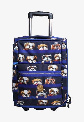 DOGS - Wheeled suitcase - blue