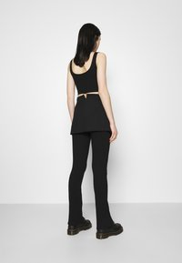 Weekday - SKIRT - Mini skirt - black - 3