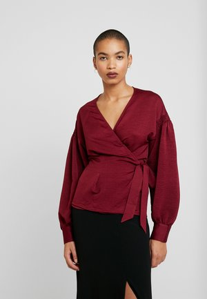 MERRILL BLOUSE - Bluser - rhododendron