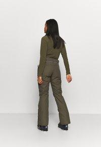 Brunotti - SUNLEAF WOMEN SNOWPANTS - Snow pants - sprout - 2