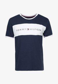 Tommy Hilfiger - TEE LOGO FLAG - Maglia del pigiama - blue - 3