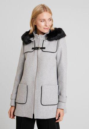 Classic coat - gris clair