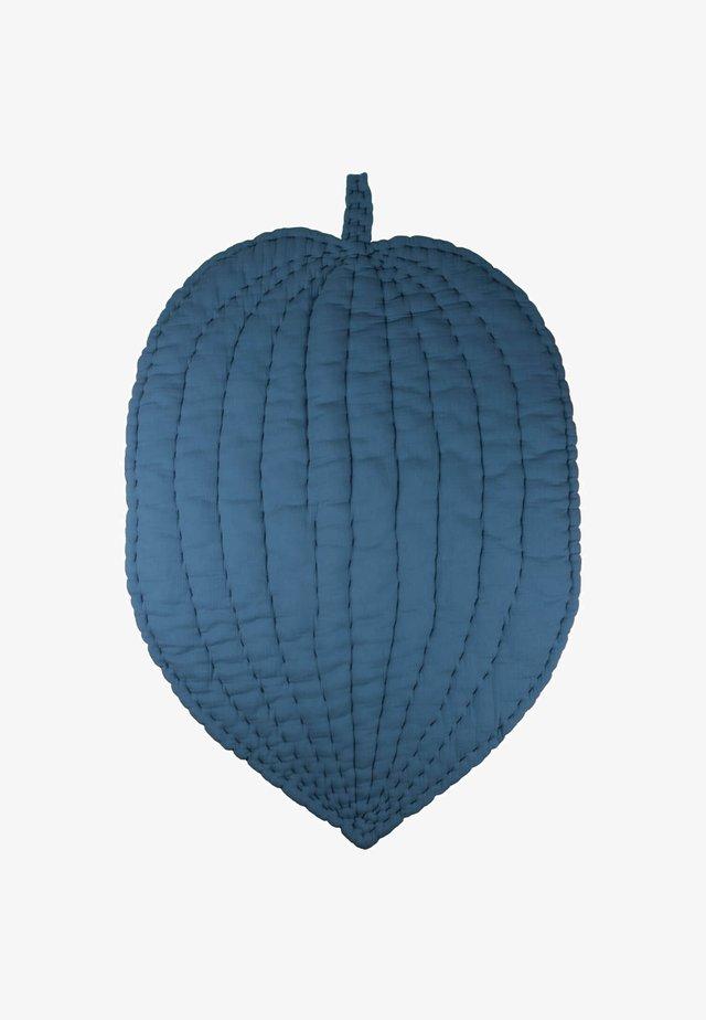 LEAF SHAPED  - Hrací podložka - blue