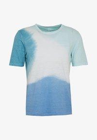 120% Lino - TIE DYE - T-shirts print - shibori blue - 5