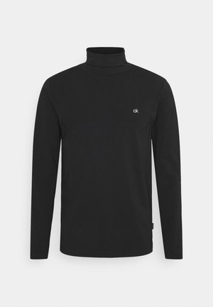 ROLL NECK LONG SLEEVE  - Bluzka z długim rękawem - black