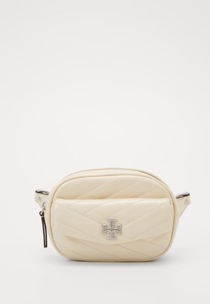 KIRA CHEVRON DISTRESSED BELT BAG - Riñonera - new cream