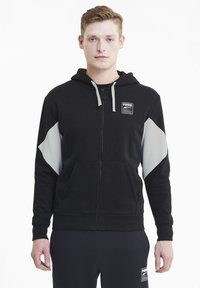 Puma - REBEL  - Zip-up hoodie - black - 0