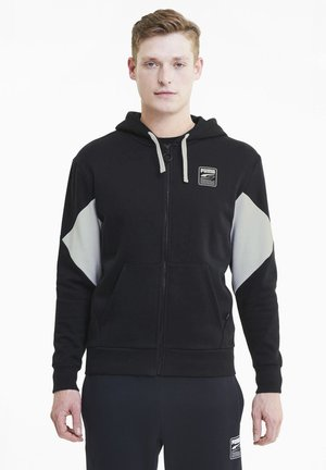 REBEL  - veste en sweat zippée - black