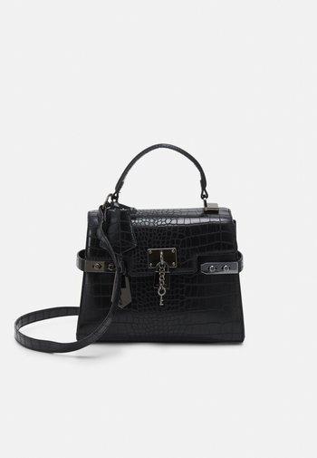 AGROLIA - Handbag - jet black/gunmetal
