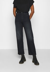 G-Star - TEDIE ULTRA HIGH STRAIGHT ANKLE - Straight leg jeans - xenon blue - 0
