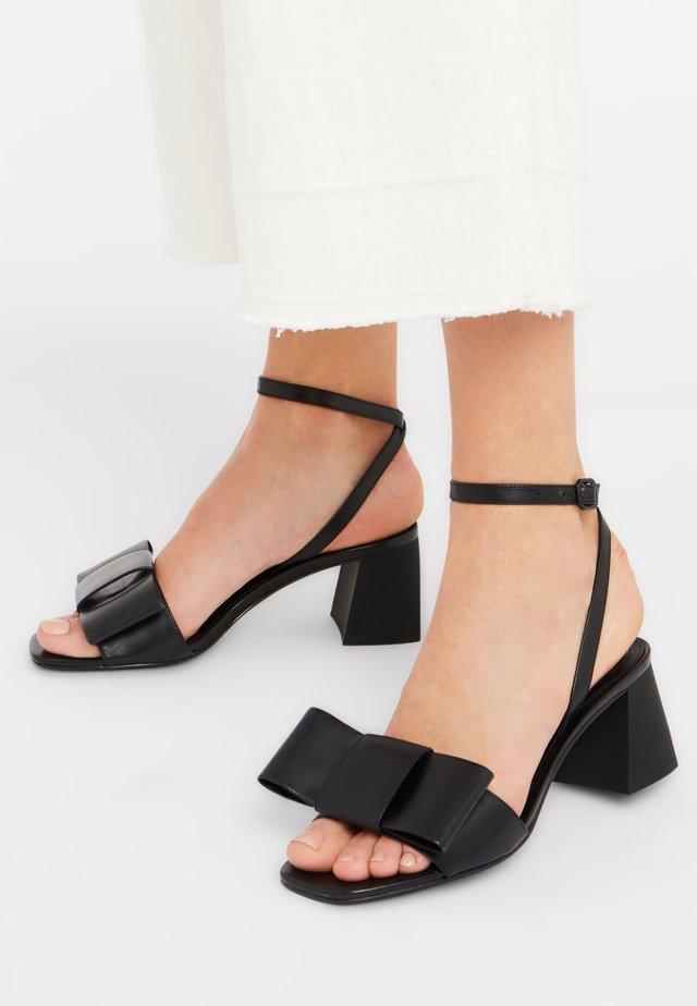 MATINA-60 - Ankle cuff sandals - black