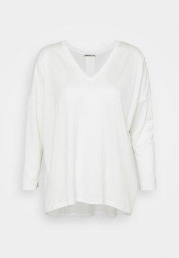 VENJA - Long sleeved top - ecru