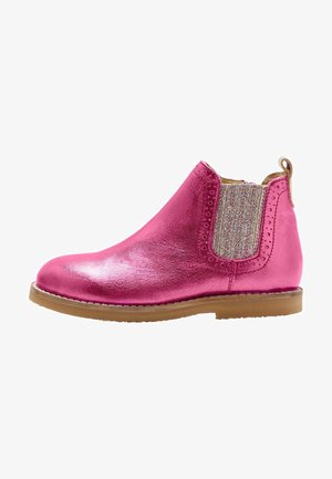 CHELSEA - Classic ankle boots - rosa-metallic