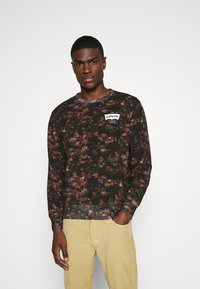 Levi's® - GRAPHIC CREW - Felpa - black - 0