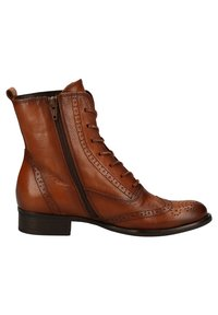 Gabor - Lace-up ankle boots - new whisky(effekt) - 5