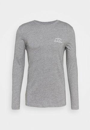 JJHERO TEE  - Långärmad tröja - grey melange