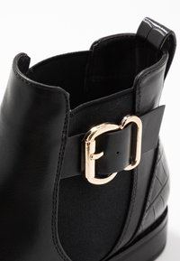 ONLY SHOES - ONLBOBBY ELASTIC BUCKLE - Ankle Boot - black - 2