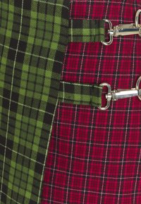 The Ragged Priest - MIXED CHECK SKIRT - Miniskjørt - red/green - 2