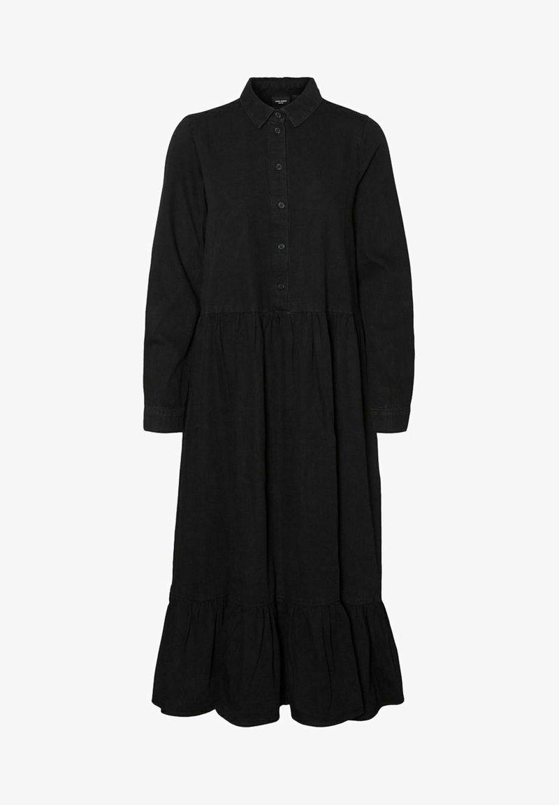 Vero Moda - Maxi dress - black denim