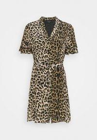 AllSaints - LEPPO DRESS - Day dress - leopard yellow - 0
