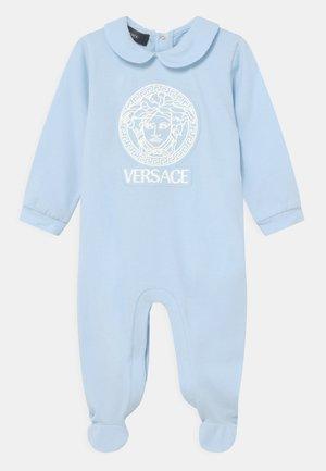MEDUSA UNISEX - Sleep suit - baby blue/white