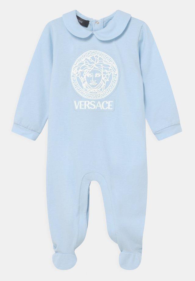 MEDUSA UNISEX - Dupačky na spaní - baby blue/white