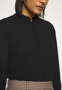 Selected Femme - SLFDYLANA - Button-down blouse - black - 3