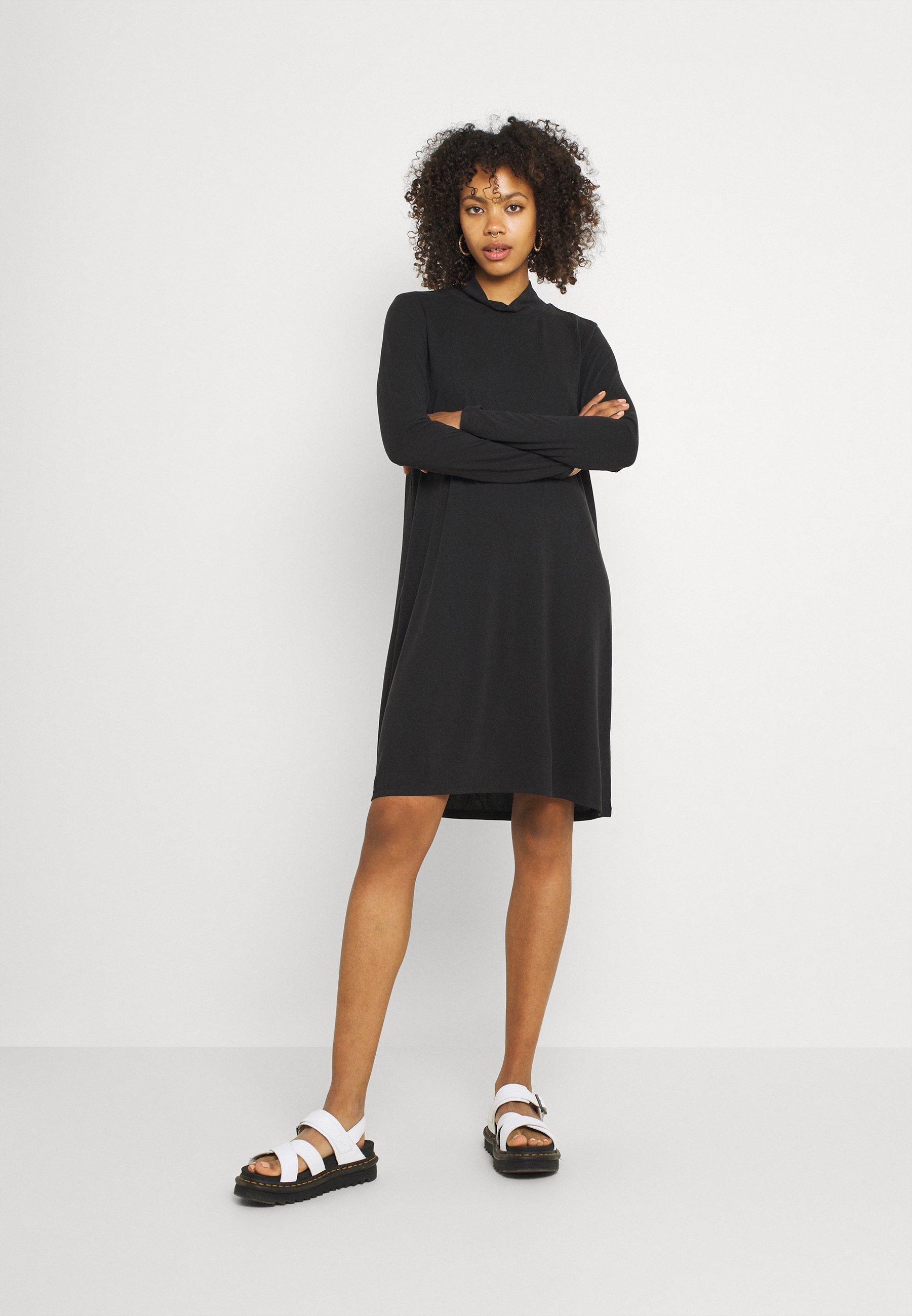 Women OBJANNIE HIGHNECK DRESS - Jersey dress