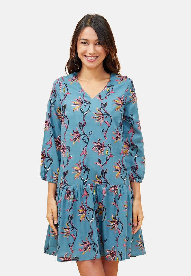 ORBA - Korte jurk - blue