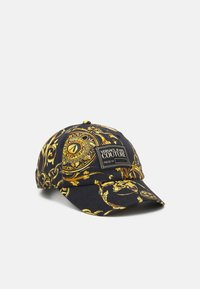 Versace Jeans Couture - BASEBALL WITH CENTRAL SEWING UNISEX - Pet - nero/oro - 0