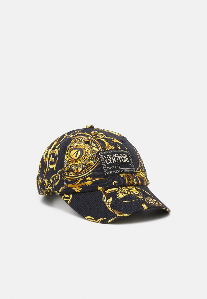 Versace Jeans Couture - BASEBALL WITH CENTRAL SEWING UNISEX - Pet - nero/oro