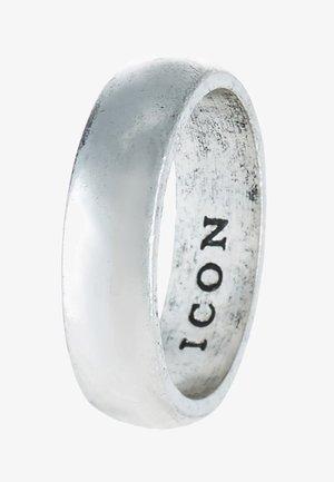 ICON BAND - Ringar - silver-coloured