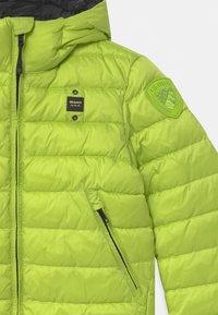 Blauer - GIUBBINI CORTI IMBOTTITO OVATTA - Winter jacket - light green - 2