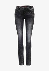 Street One - Jeans Skinny Fit - schwarz - 3