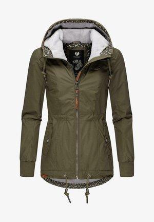 DANKA - Winter jacket - olive