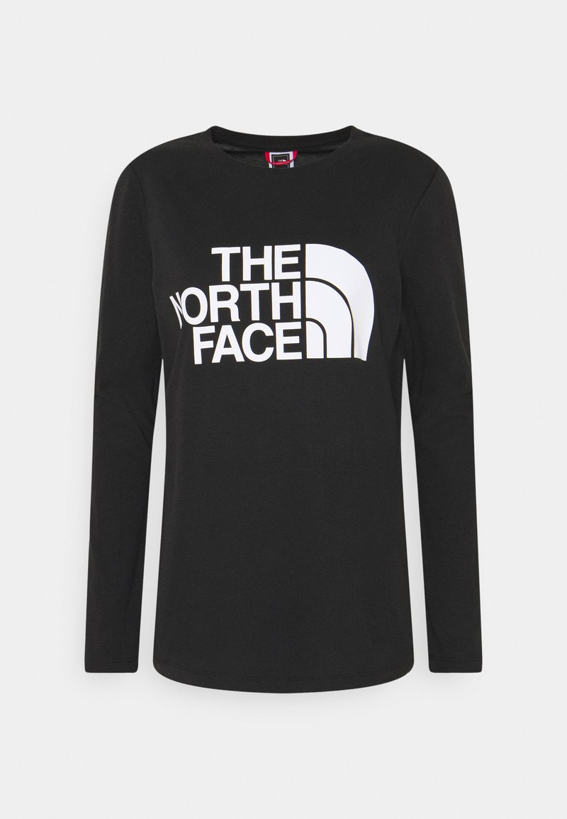 The North Face - W STANDARD LS TEE - Langærmede T-shirts - black