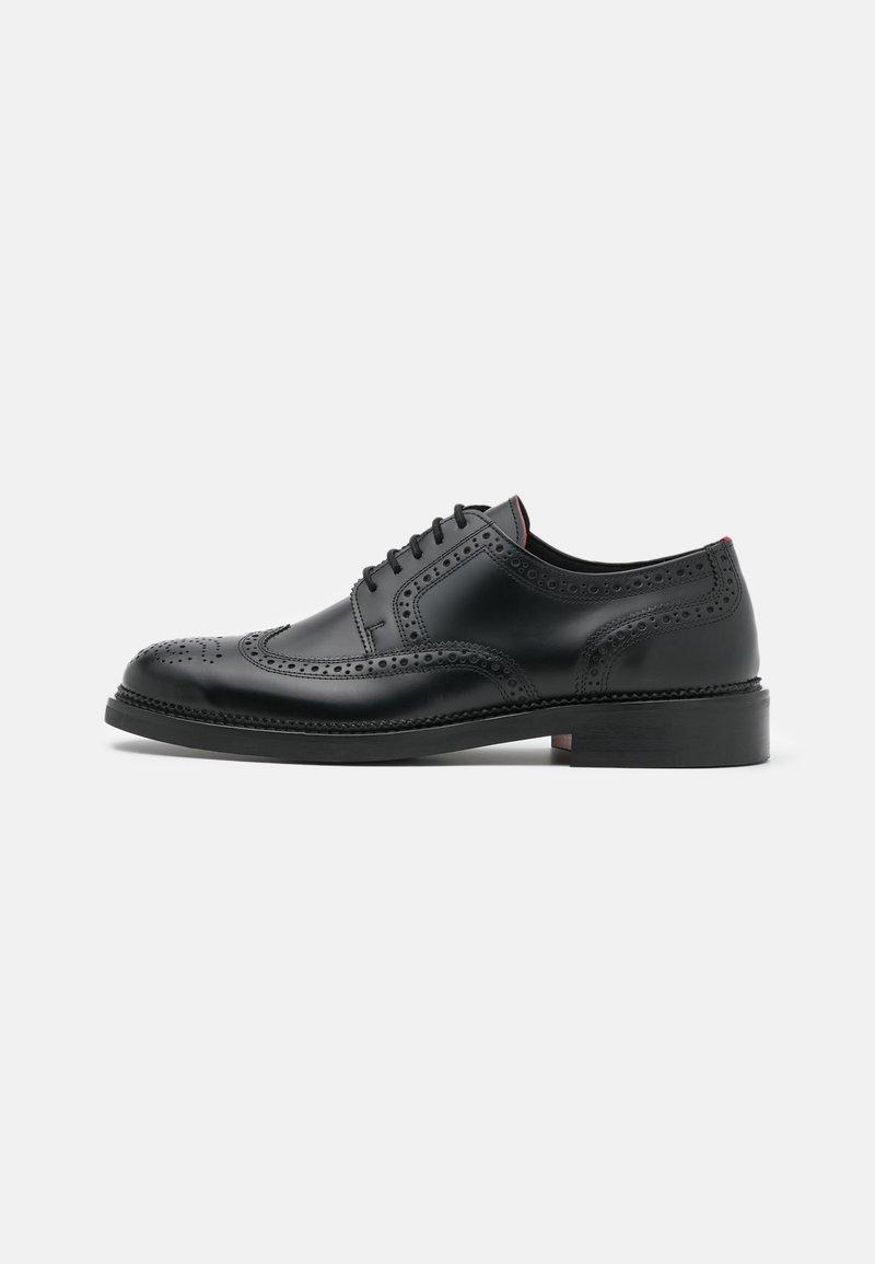 HUGO - LUXITY - Šněrovací boty - black