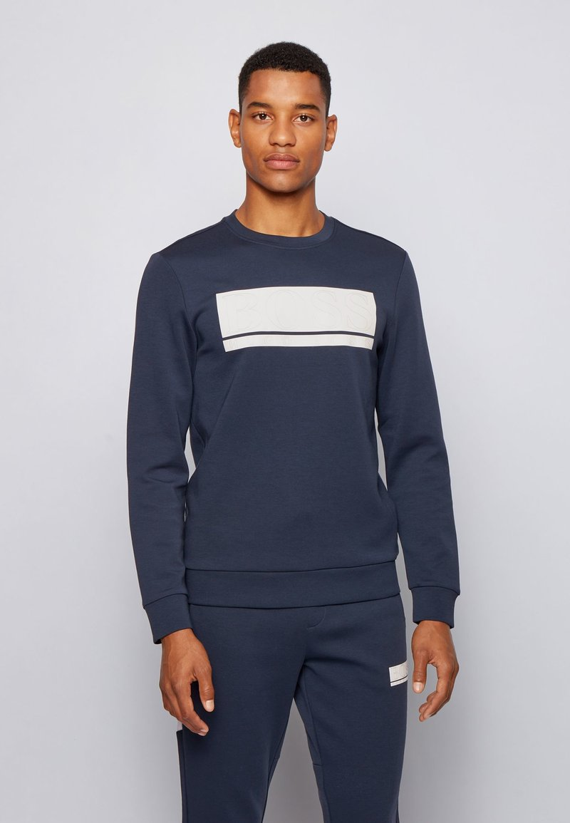 BOSS - SALBO - Sweatshirt - dark blue