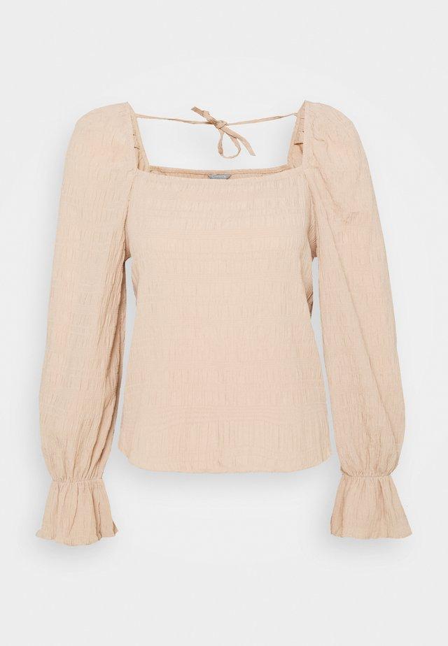 BLOUSE DONNA - Bluse - beige