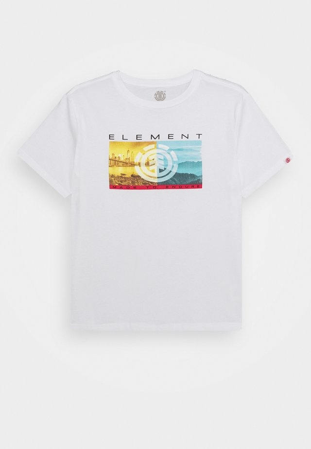 SENTINEL BOY - T-shirt print - optic white