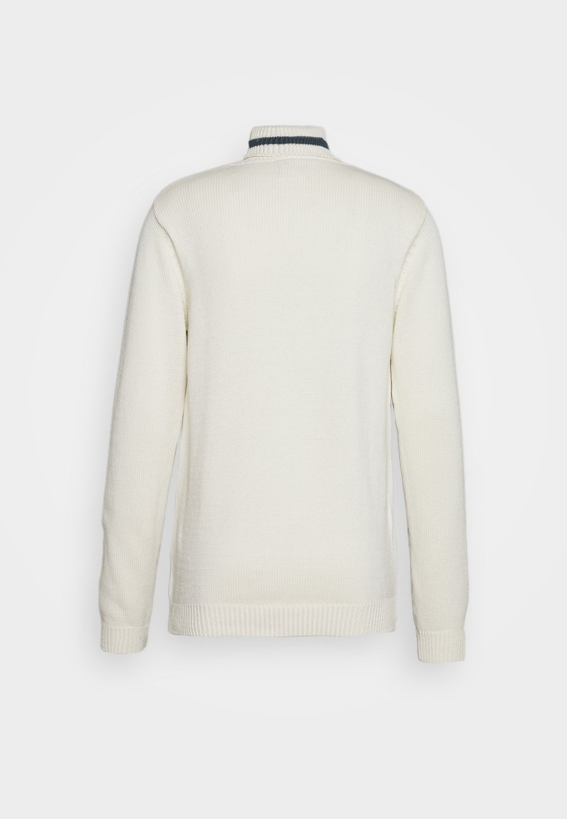 Cleptomanicx HIGH ROLLER - Strickpullover - winter white/offwhite TQ11Vw