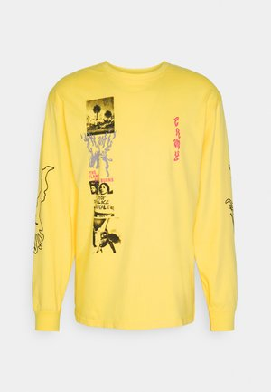YOGA FIRE LONG SLEEVE TEE - Long sleeved top - yellow