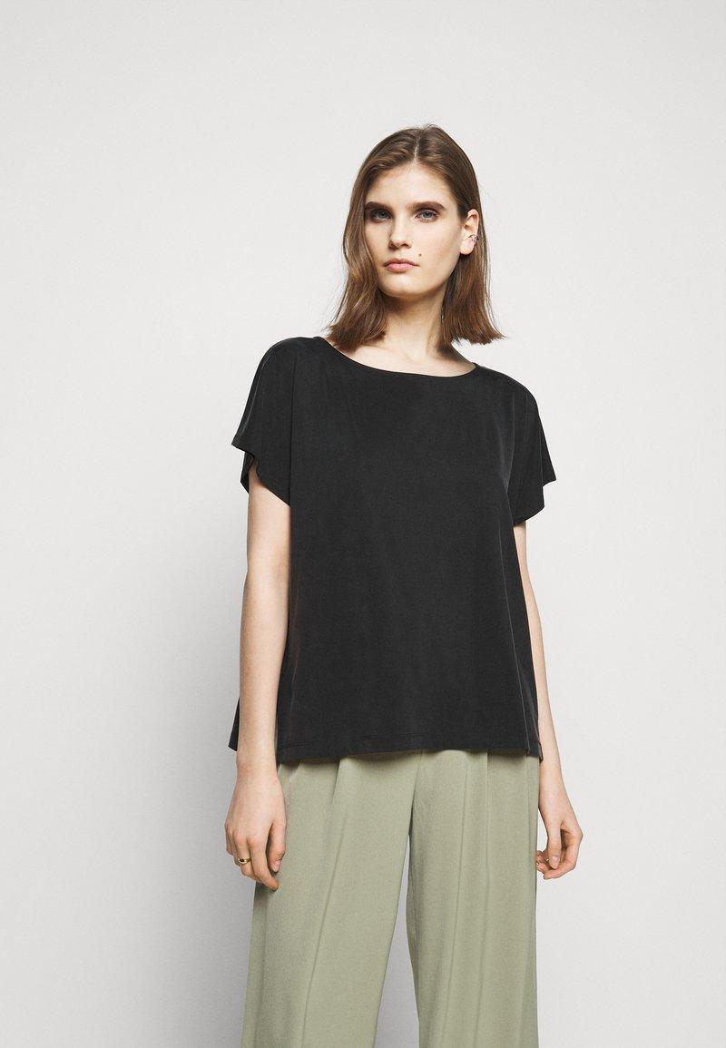DRYKORN - KIMANA - Basic T-shirt - schwarz