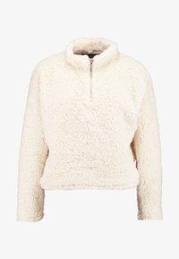 New Look - HALF ZIP - Sweatshirts - cream - 3